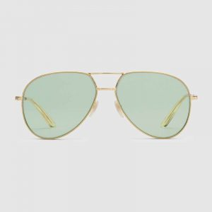 Florida Eyecare Associates - Aviator-metal-sunglasse-green
