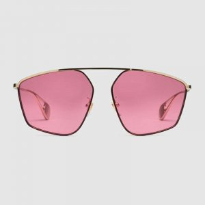 Florida Eyecare Associates - Fit square-frame pink